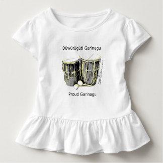 Stolzes Garifuna Baby-Kleid Kleinkind T-shirt