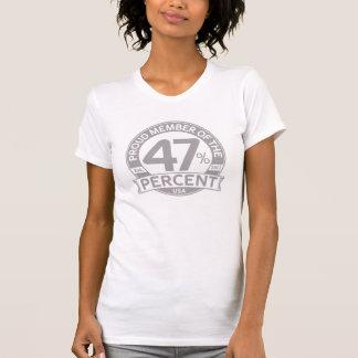Stolzes Mitglied der 47 Prozent T-Shirt