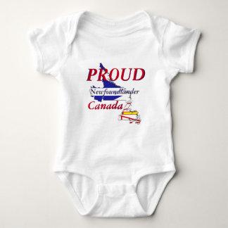 Stolzes Newfoundlander Neufundland Kanada Baby Strampler