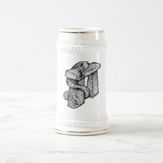 Stonehenge fing ab bierkrug