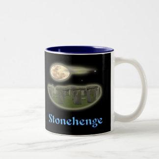 stonehenge Geheimnis-Tasse Zweifarbige Tasse