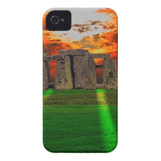 Stonehenge stehende Steine am Sonnenuntergang Case-Mate iPhone 4 Hülle