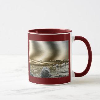 Stonehenge Sun bewegt Wecker Kaffee-Tasse Tasse
