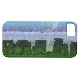 Stonehenge u. Mond-alter historischer Standort des iPhone 5 Etuis