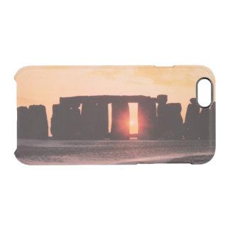 Stonehenge, Winter-Sonnenwende Durchsichtige iPhone 6/6S Hülle