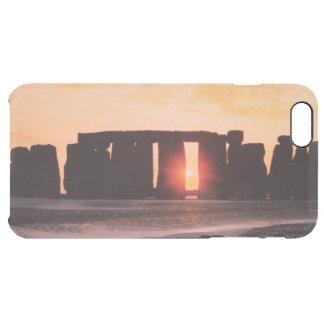 Stonehenge, Winter-Sonnenwende Durchsichtige iPhone 6 Plus Hülle
