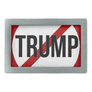 Stoppen Sie Donald Trump Anti-Trumpf Rechteckige Gürtelschnalle