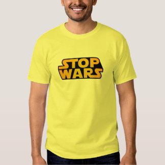 Stoppen Sie Kriegs-Gold - Hoffnung für Weltfrieden Hemden