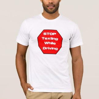 Stoppen Sie simsen beim Fahren T-Shirt