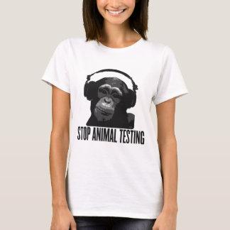 stoppen Sie Tierversuche T-Shirt