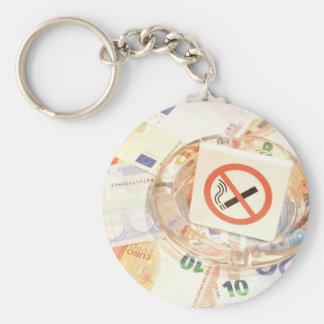 Stoppen Sie zu rauchen Schlüsselanhänger
