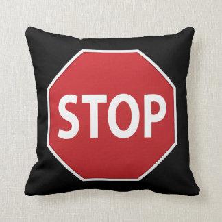 Stoppschild-umschaltbares Entwurfs-Wurfs-Kissen Zierkissen