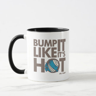 Stoß, den es es mag, ist heiße Version 2 Tasse