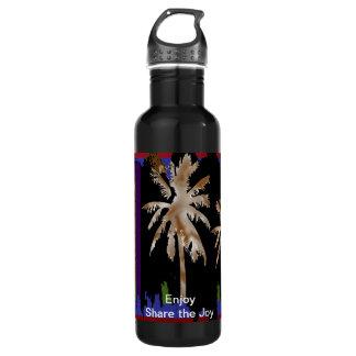 Strand-Bäume - genießen Sie n-Anteil die Freude Trinkflaschen