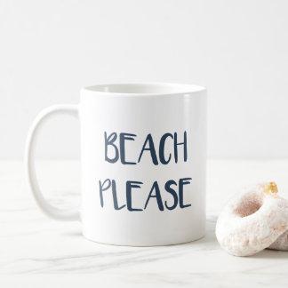 Strand bitte tasse