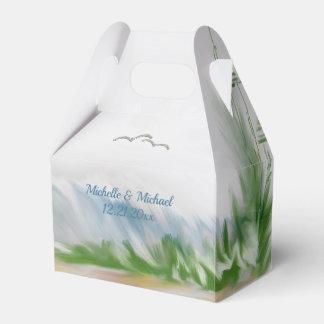 Strand-Dünen-Romance Hochzeit Geschenkschachtel