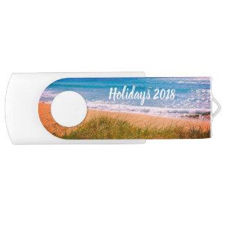 Strand-Feiertage USB Stick