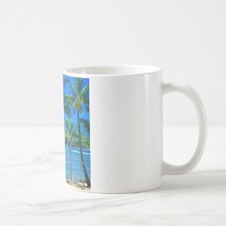 Strand-Hängematte Kauai Hawaii Kaffeetasse