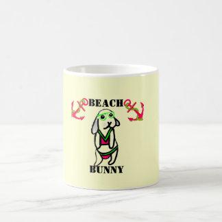 Strand-Häschen Tasse