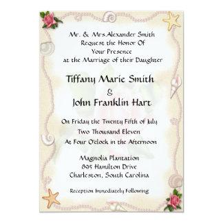 Strand-Hochzeits-Einladungen