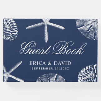 Strand-Hochzeits-Starfish-u. Gästebuch