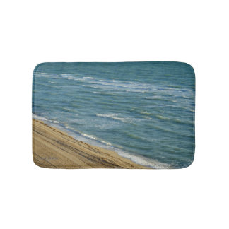 Strand-Ozean-Sand-blaues Wasser tropisch Badematte