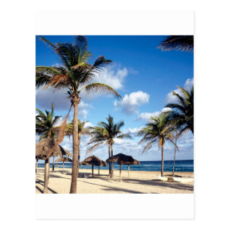 Strand Playas Kuba Postkarte