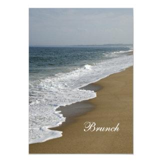 Strand-Posten-Hochzeits-Brunch-Einladung 12,7 X 17,8 Cm Einladungskarte