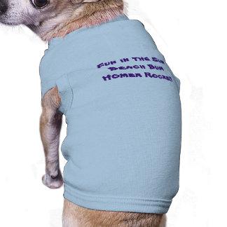 Strand-wertloshündchen-T-Stück Ärmelfreies Hunde-Shirt