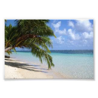Strandbild Fotodruck