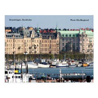 Strandvägen, Stockholm, Foto Ol… Postkarte