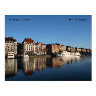 Strandvägen, Stockholm, FotoOla… Postkarte