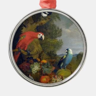 STRANOVER Tobias Macawsvogeltier-Fruchtnatur Silbernes Ornament
