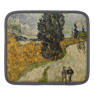 Straße Vincent van Goghs | mit Zypressen, 1890 iPad Sleeve