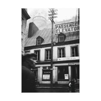 Straßen-Fotografiedreißiger jahre Fotografie Leinwanddruck