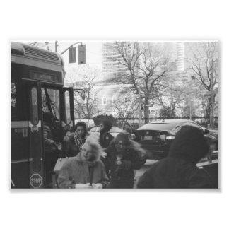 Straßen-Leben 4 Fotos