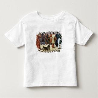 Straßen-Szene in Stockholm Kleinkinder T-shirt