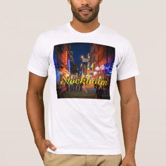 Straßen-Szene Stockholms Schweden T-Shirt