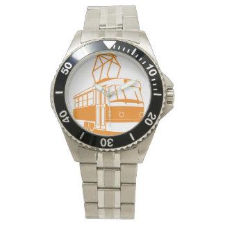 Straßenbahn-Uhr Uhr