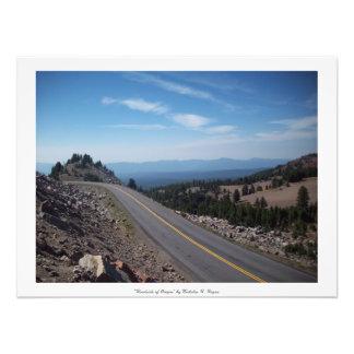 """""""Straßenrand von Oregon """" Fotografien"""