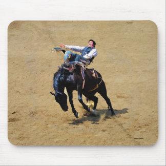 Sträubendes Pferden-und Rodeo-Cowboy #Gift Mousepads