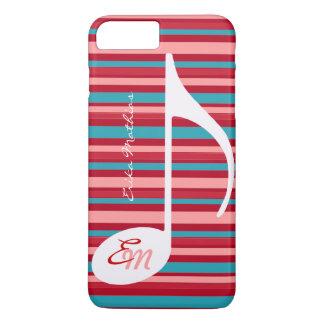 Streifen mit musikalischer Anmerkung iPhone 8 Plus/7 Plus Hülle