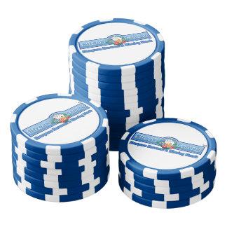 Streifen-Spiel-Poker-Chips Poker Chips Set