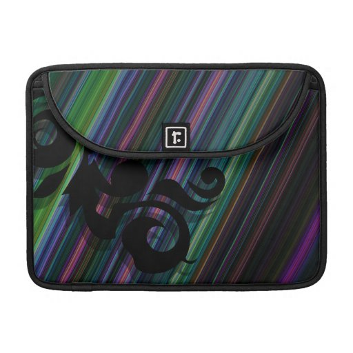 Streifen und Wirbel Macbook Prohülse MacBook Pro Sleeves