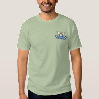 Streik Besticktes T-Shirt