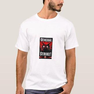 Streik. Katze T-Shirt