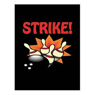 Streik Postkarte