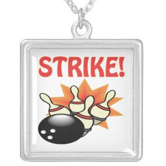 Streik Versilberte Kette