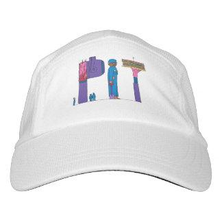 Strick-Leistungs-Hut | PITTSBURGH, PA (GRUBE) Headsweats Kappe