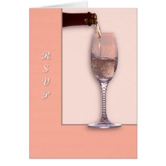 Strömende Champagne Karte